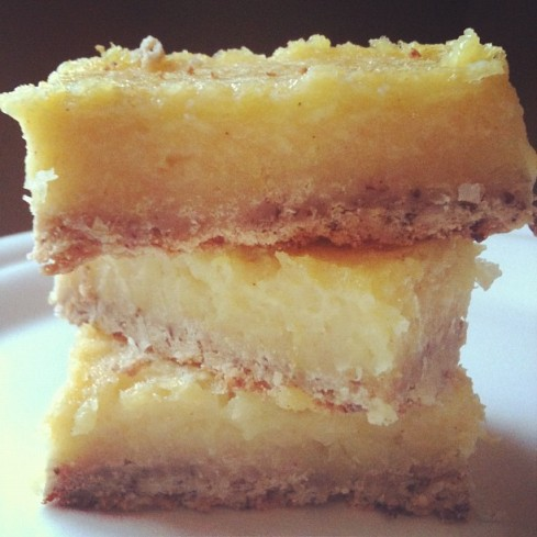 Pucker up lemon bars